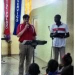 Our Team Leader, Alan Ventress preaching in San Felip