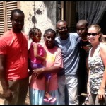 Standing with Cissy, this whole family came to Christ!!!