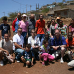 Team at the Village of Achada Mata for follow up and Bible training