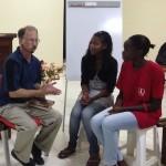 Phil discipling in T4T discipleship multiplication.